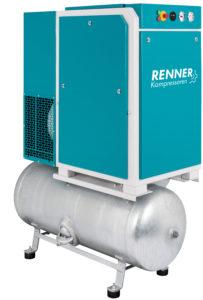 На ресивере RSD ( 2,2 - 18,5 кВт)