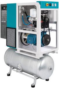 Компрессор на ресивере с осушителем RSDK (2,2 - 18,5 кВт)