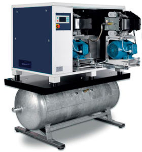 На ресивере OFR ( 1,5 - 15,0 кВт)
