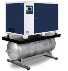 На ресивере с осушителем OFRT (1,5 - 11,0 кВт)